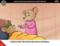 Moli Tikus Lupa Waktu, Moli Tikus Sakit Karena Kelelahan (21)