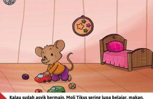 Moli Tikus Lupa Waktu, Moli Tikus Sering Lupa Belajar (3)