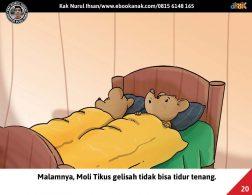 Moli Tikus Lupa Waktu, Moli Tikus Tidak Bisa Tidur (20)