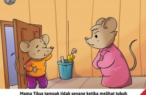 Moli Tikus Lupa Waktu, Ya Allah, Tubuh Moli Kotor Sekali (18)