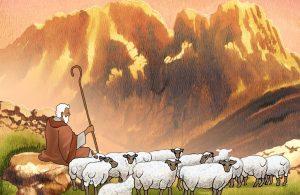 Nabi Musa Bekerja Mengurus Hewan Ternak