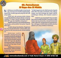 Nabi Musa dan Si Miskin yang Malas Bersyukur (63)