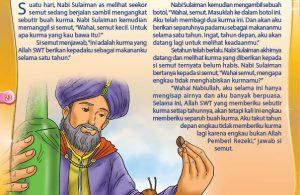 Nabi Sulaiman dan Semut yang Pandai Berhemat