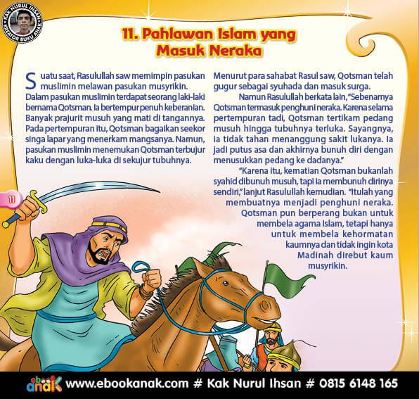 Pahlawan Islam yang Masuk Neraka (11)