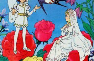 Pangeran Kecil Peri Bunga Jatuh Hati pada Thumbelina