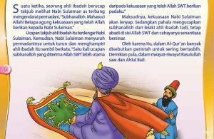 Permadani Terbang Nabi Sulaiman dan Keutamaan Kalimat Tasbih (71)