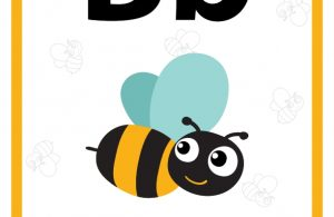 Pintar Belajar Alfabet Bb Bee
