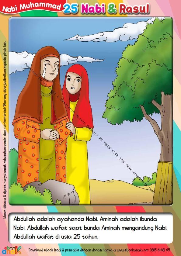 Pintar Menulis Huruf Tegak Bersambung Kisah Nabi Muhammad 1 (10)