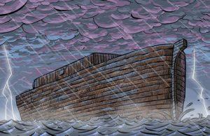 Pintu-Pintu Langit Terbuka Karena Doa Nabi Nuh AS