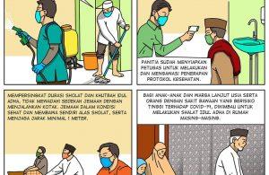 Protokol Kesehatan Shalat Idul Adha