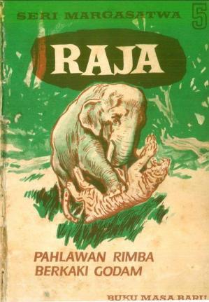 Ebook Anak Jadul Terbitan 1974 Seri Margasatwa: Raja, Pahlawan Rimba Berkaki Godam (5)