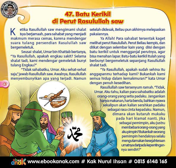 Rasul Saw Mengganjal Perutnya dengan Batu Kerikil Karena Menahan Lapar (47)