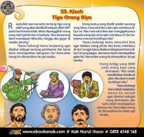 Rasulullah dan Kisah Tiga Orang Saleh Penghuni Neraka (53)