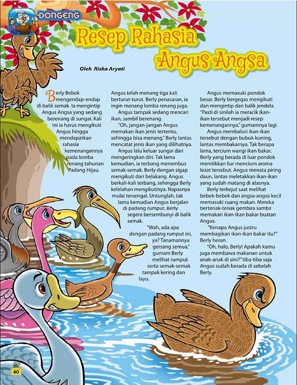 Resep Rahasia Angus Angsa 1