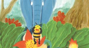 si lebah tersesat