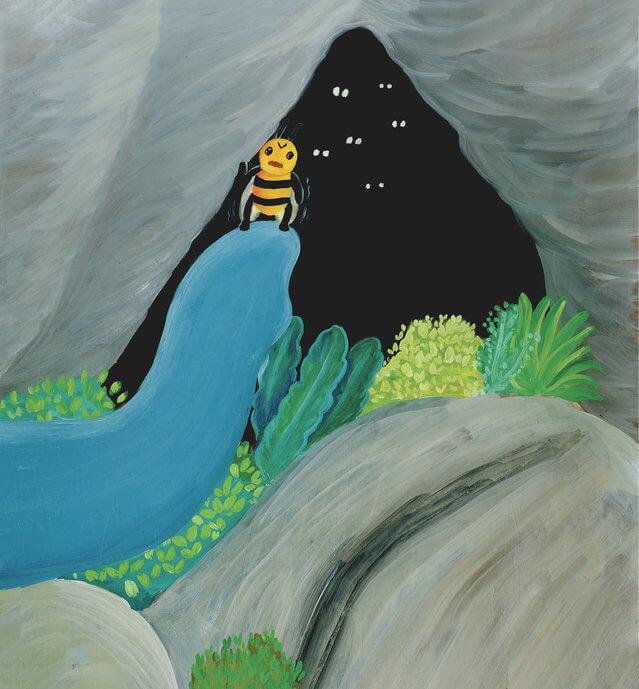 rumah gua si lebah