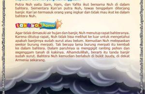 Siapakah Putra Nuh yang Ikut Tenggelam (15)