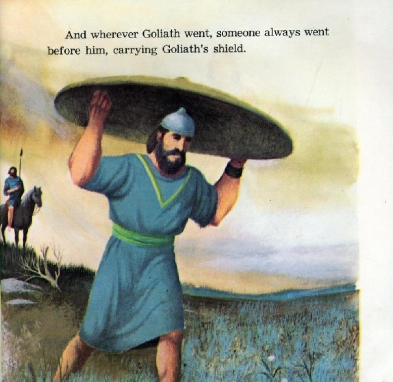 Tameng Goliath yang Besar dan Berat (5)