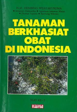 Tanaman Berkhasiat Obat di Indonesia Jilid ke-2