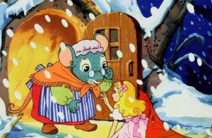 Thumbelina Bertemu dengan Tikus Ladang yang Baik Hati