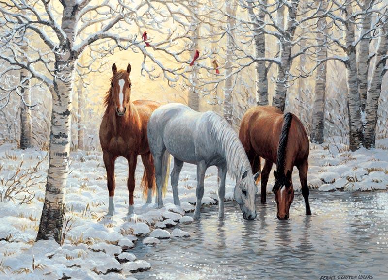 Tiga Ekor Kuda Bersaudara