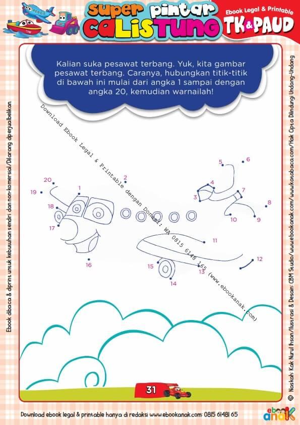 Workbook Legal dan Printable Super Pintar Calistung Transportasi (31)