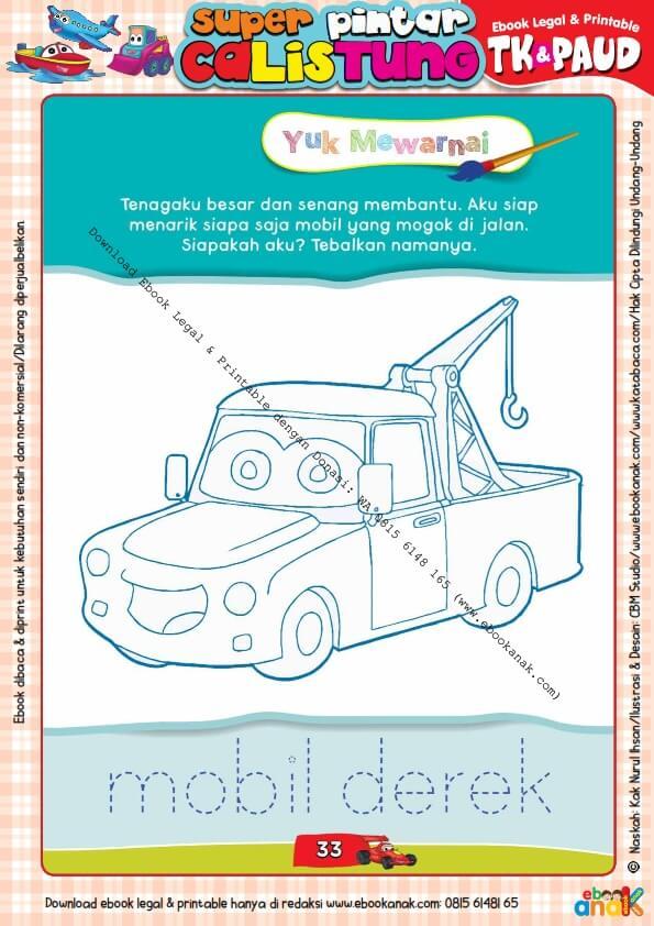 Workbook Legal dan Printable Super Pintar Calistung Transportasi (33)