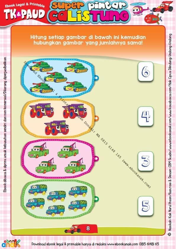 Workbook Legal dan Printable Super Pintar Calistung Transportasi (8)