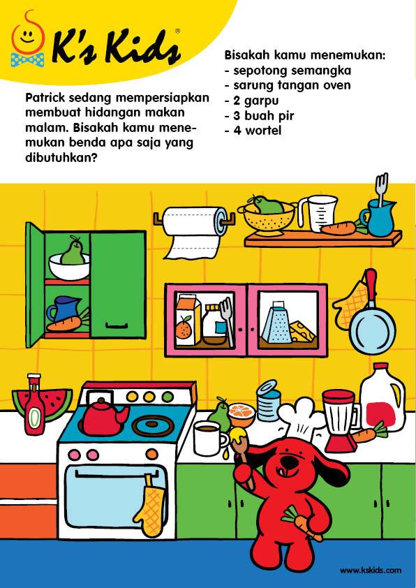 Worksheet Mencari Benda di Dapur (5)