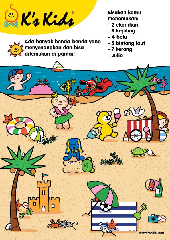 Worksheet Mencari Benda di Pantai (10)