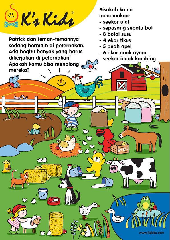 Worksheet Mencari Benda di Peternakan (12)