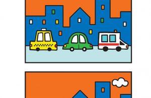 Worksheet Mencari Perbedaan Gambar di Jalan Raya 6