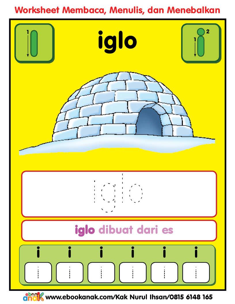 Worksheets Alfabet Ii Iglo