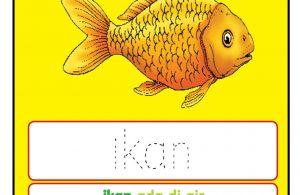 Worksheets Alfabet Ii Ikan