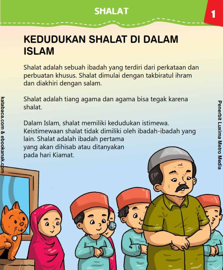 baca buku anak islam online, fikih islam jilid 4_005 Kedudukan Shalat dalam Islam