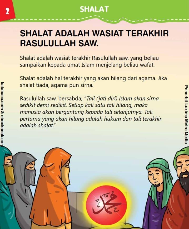 Shalat adalah Wasiat Terakhir Rasulullah