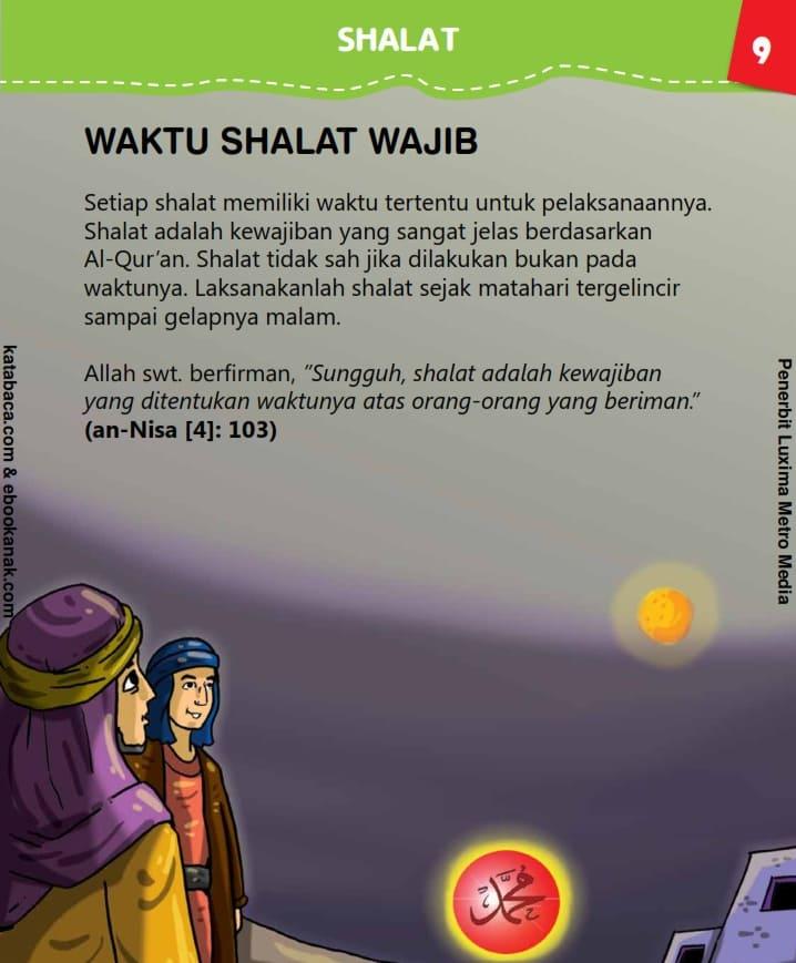 Waktu Shalat Wajib