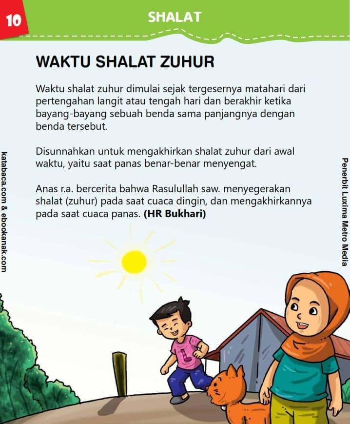 Waktu Shalat Zuhur