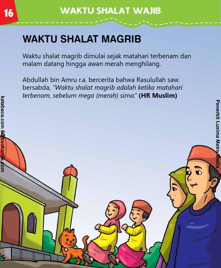 Waktu Shalat Maghrib