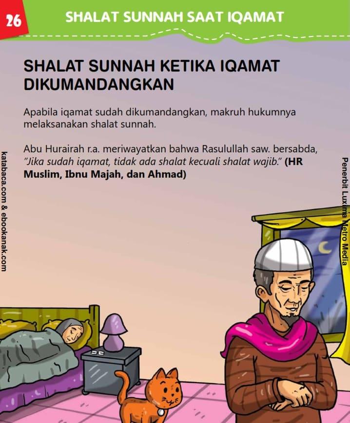 Shalat Sunnah ketika Iqamat Dikumandangkan