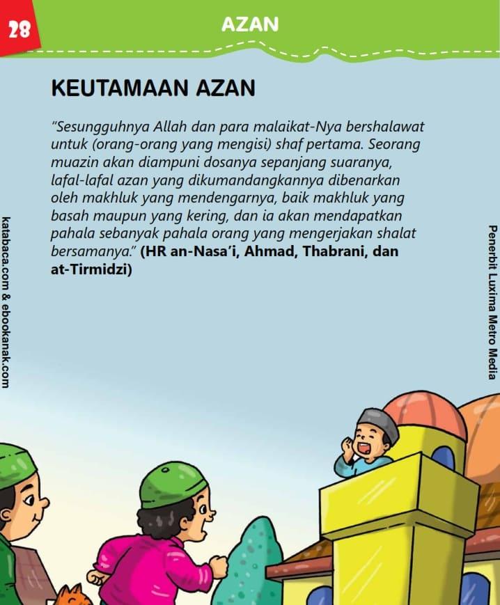 Keutamaan Azan