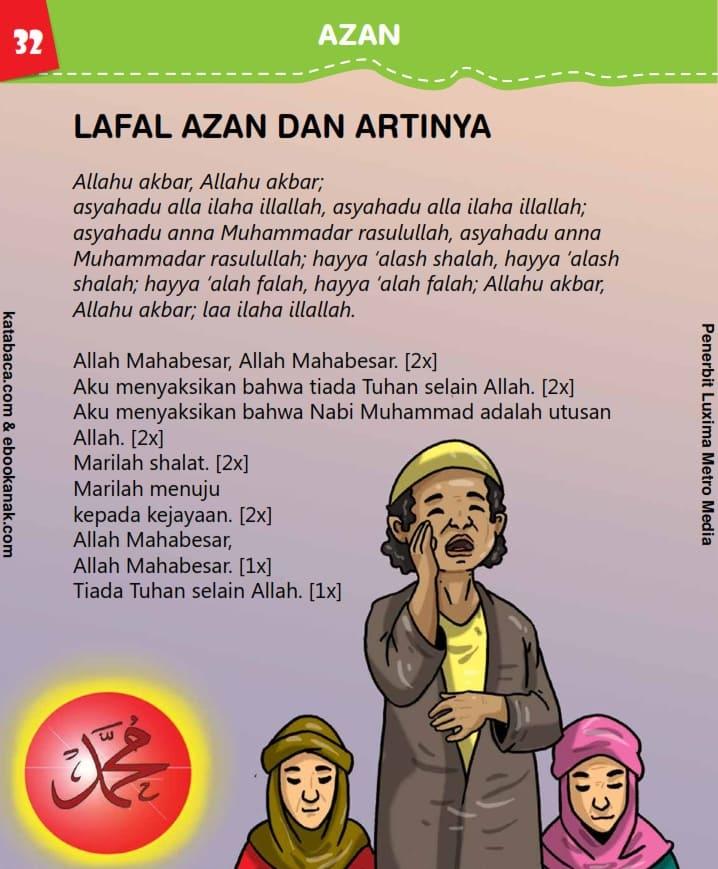 Lafal Azan dan Artinya