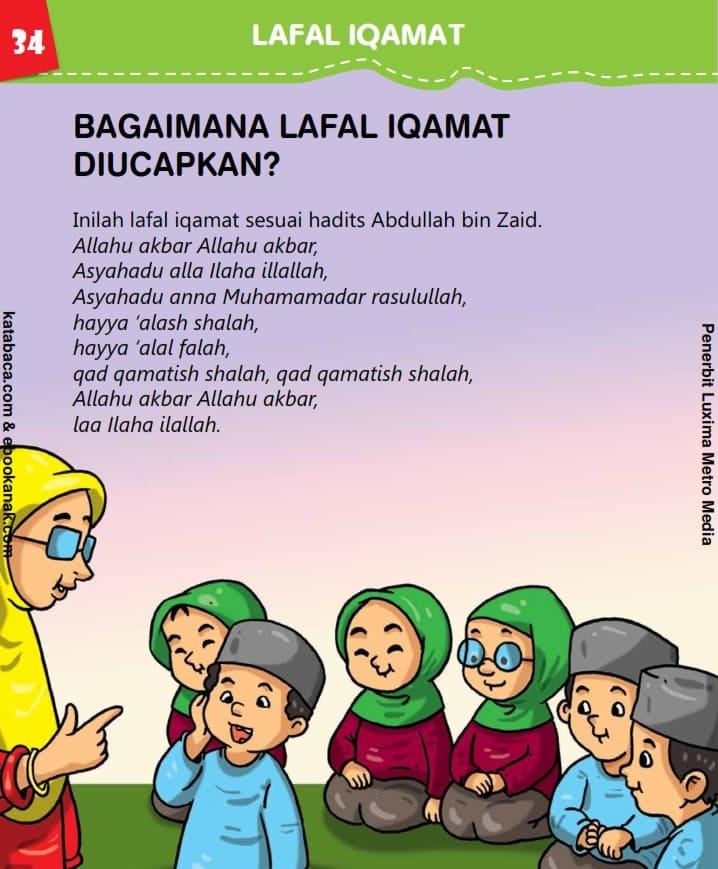 Bagaimana Lafal Iqamat Diucapkan