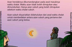 Azan di Awal Waktu Shalat dan Sebelum Masuk Waktu Shalat