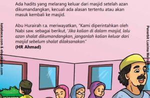Apa Hukumnya Keluar dari Masjid Sesudah Azan