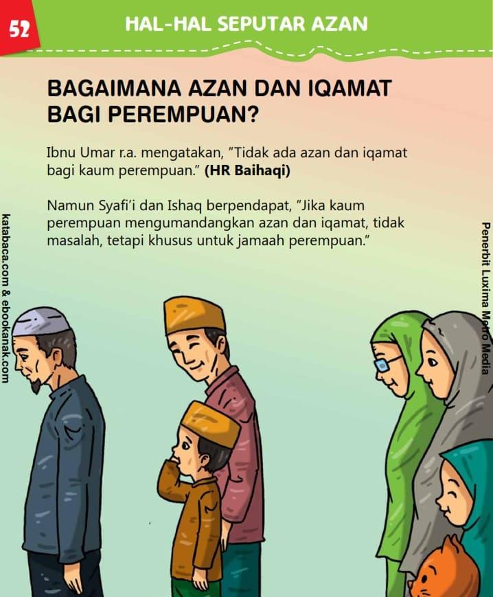 Hukum Azan dan Iqamat Bagi