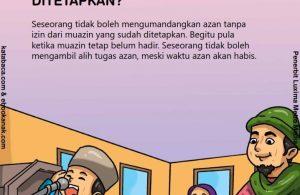 Hukum Azan Tanpa Izin Muazin yang Ditetapkan