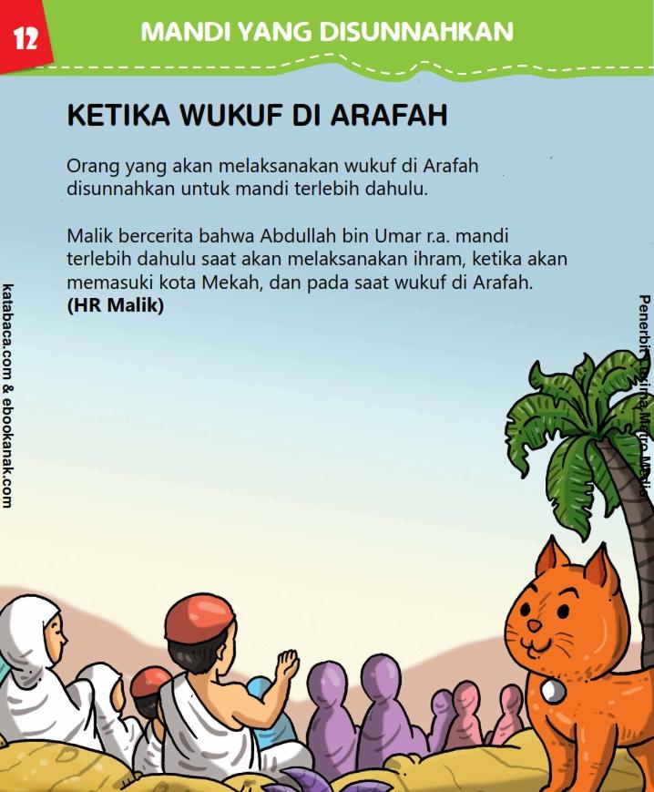 Bagaimana Huku Mandi Ketika Wukuf di Arafah