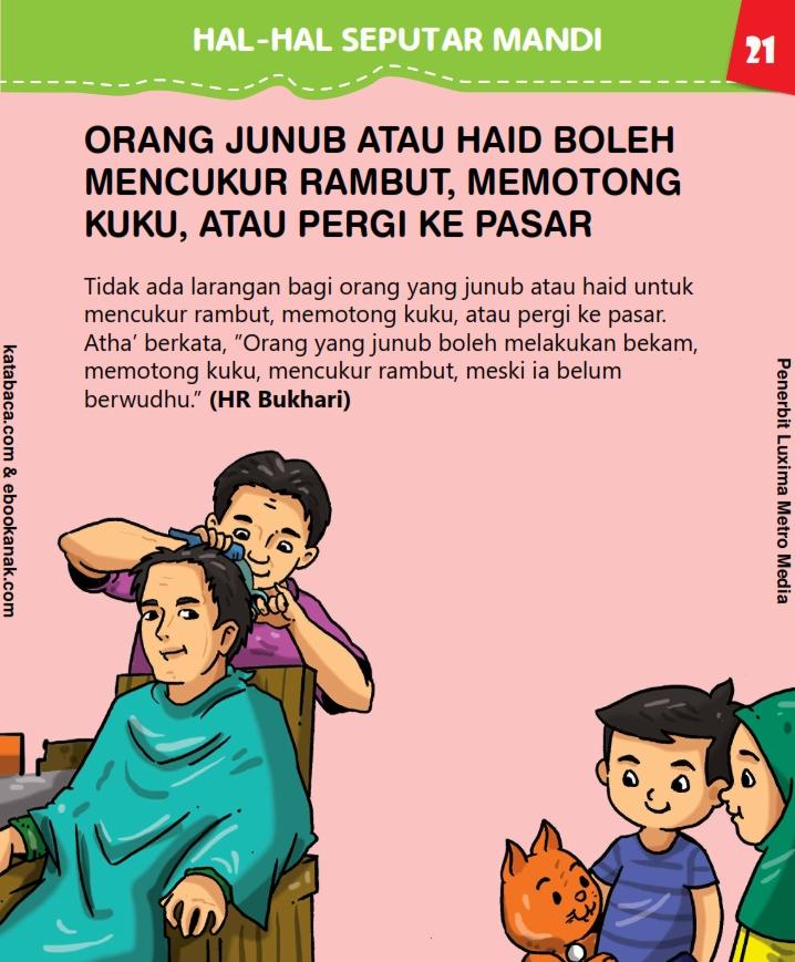 Apakah Orang Junub Boleh Mencukur Rambut