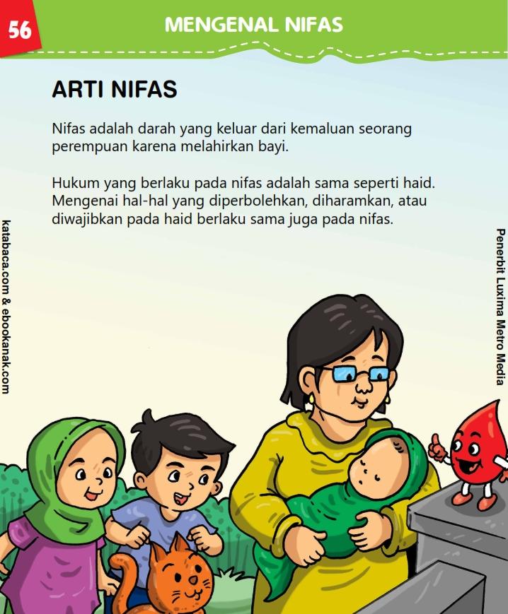 baca buku anak online, fikih islam jilid 3_060 Pengertian Nifas dalam Islam